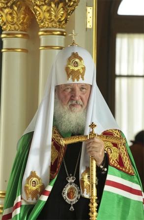 Святейший Патриарх Московский и всея Руси КИРИЛЛ в нашей обители. 7 ноября 2010 г.