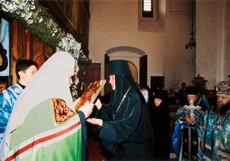 Окончание Патриаршего богослужения