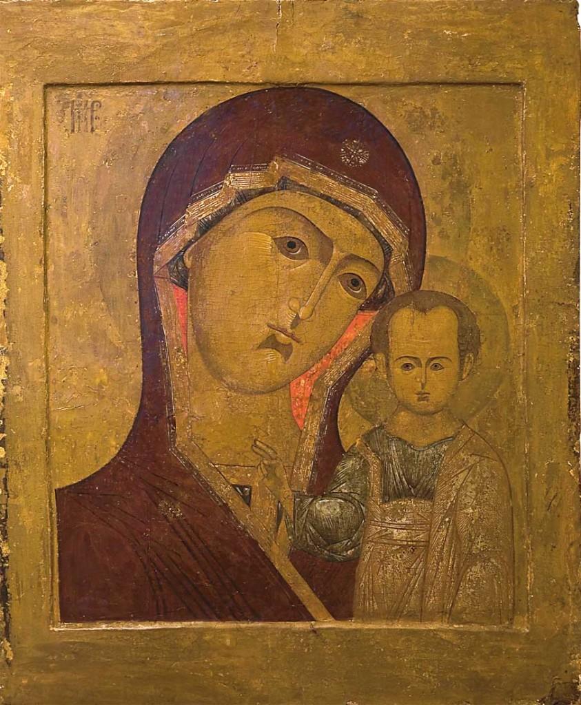 Казанская икона Пресвятой Богородицы. Чтимая икона монастыря