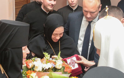 Синодальный отдел по монастырям и монашеству поздравил Святейшего Патриарха КИРИЛЛА с днем тезоименитства