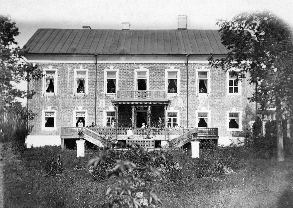 Дом усадьбы до революции