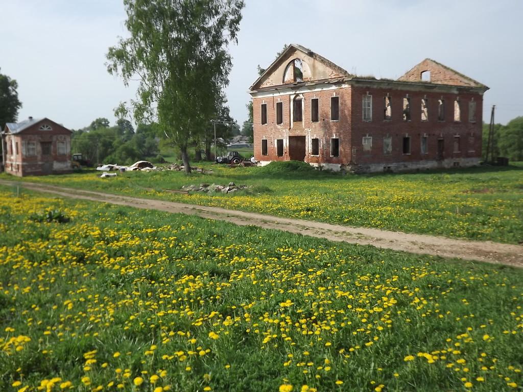 Дом усадьбы до начала восстановительных работ