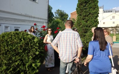 21 июня 2016 года нашу обитель посетили студенты МГУ имени М.В. Ломоносова