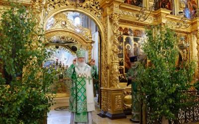 Слово Святейшего Патриарха КИРИЛЛА в день Святой Троицы в Троице-Сергиевой лавре