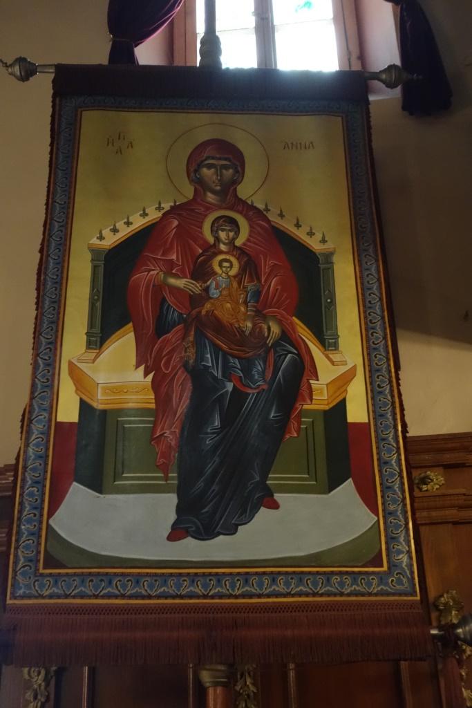 Икона святой праведной Анны - матери Пресвятой Богородицы. Корфу. 26 июля 2016 г.