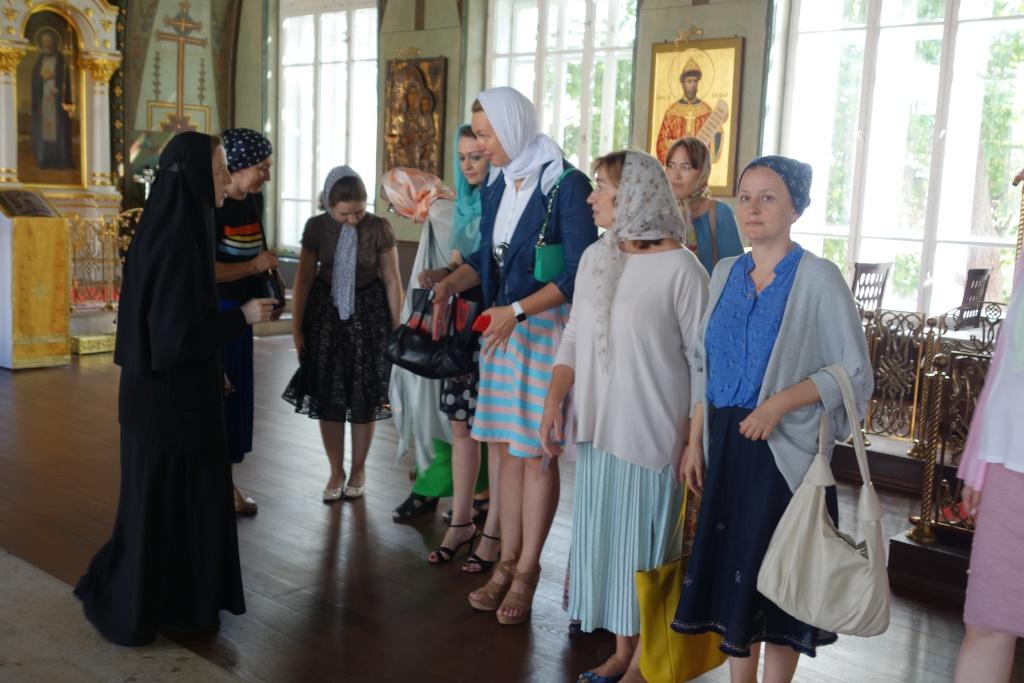 Обитель принимает экскурсоводов Зачатьевского монастыря