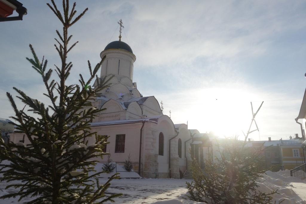 День Рождества Христова в нашей обители. Собор Рождества Пресвятой Богородицы.