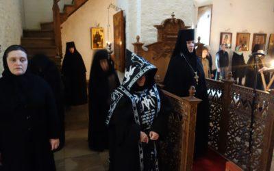 Образ покаяния. Беседа игумении Викторины (Перминовой) с сестрами перед Марииным стоянием.