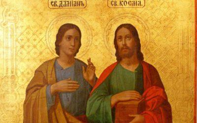 Святые бессребренники Косма и Дамиан. Житие