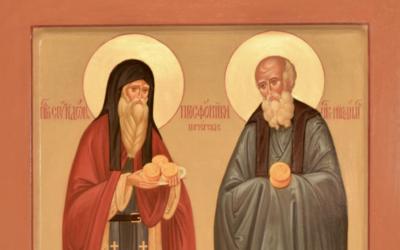 Житие преподобных Спиридона и Никодима, просфорников Печерских