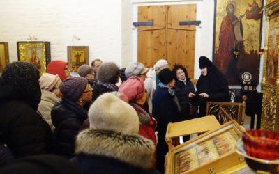 Нашу обитель посетила экскурсионная группа от ГБУ «Московский дом национальностей»