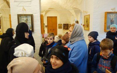Монастырь посетили учащиеся 4-х классов и преподаватели ГБОУ «Школа Новокосино» г. Москвы
