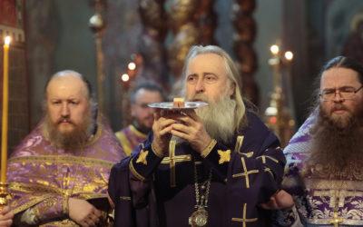 Архиепископ Феогност получил Патриаршее поздравление по случаю дня тезоименитства