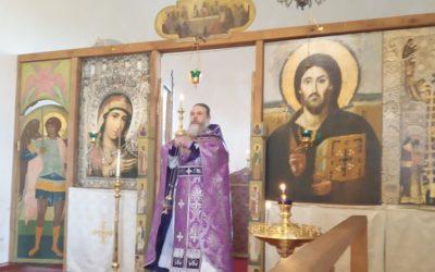 На подворье монастыря совершены великопостные богослужения