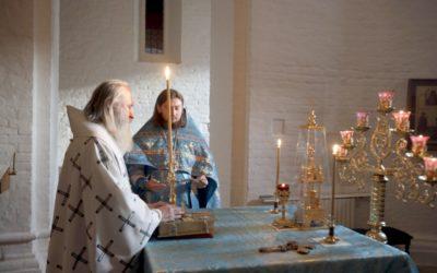 Архиепископ Феогност совершил Божественную Литургию в нашей обители