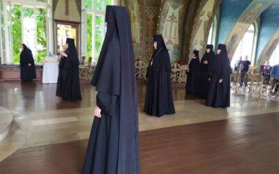 Наш монастырь встретил праздник обретения мощей преподобного Серафима Саровского